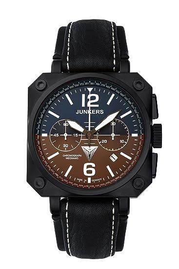 Junkers Chrono-Mechanic JU6702-4 Reloj para hombres Fabricado en Alemania: Amazon.es: Relojes