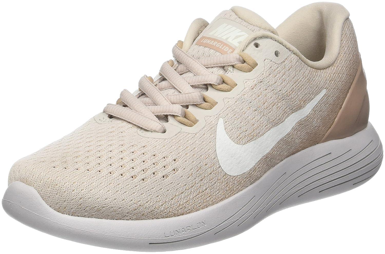 Nike Wmns Lunarglide 9, Zapatillas de Running para Mujer 41 EU|Beige (Arena Desierto/Arena/Gris Vasto/Vela 005)
