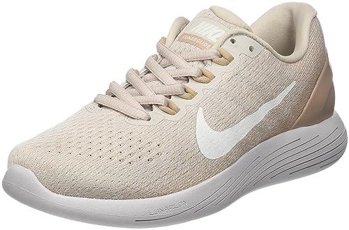 Nike Damen WMNS Lunarglide 9 Laufschuhe Beige (Desert sail