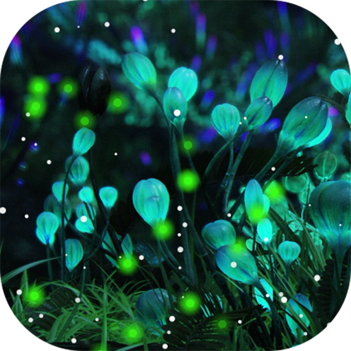 amazon com firefly forest live wallpaper free appstore for android