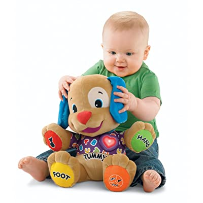 Fisher-Price Laugh & Learn Love to Play Puppy: Toys & Games