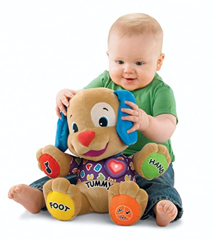 Amazoncom Fisher Price Laugh Learn Love To Play Puppy Toys Games