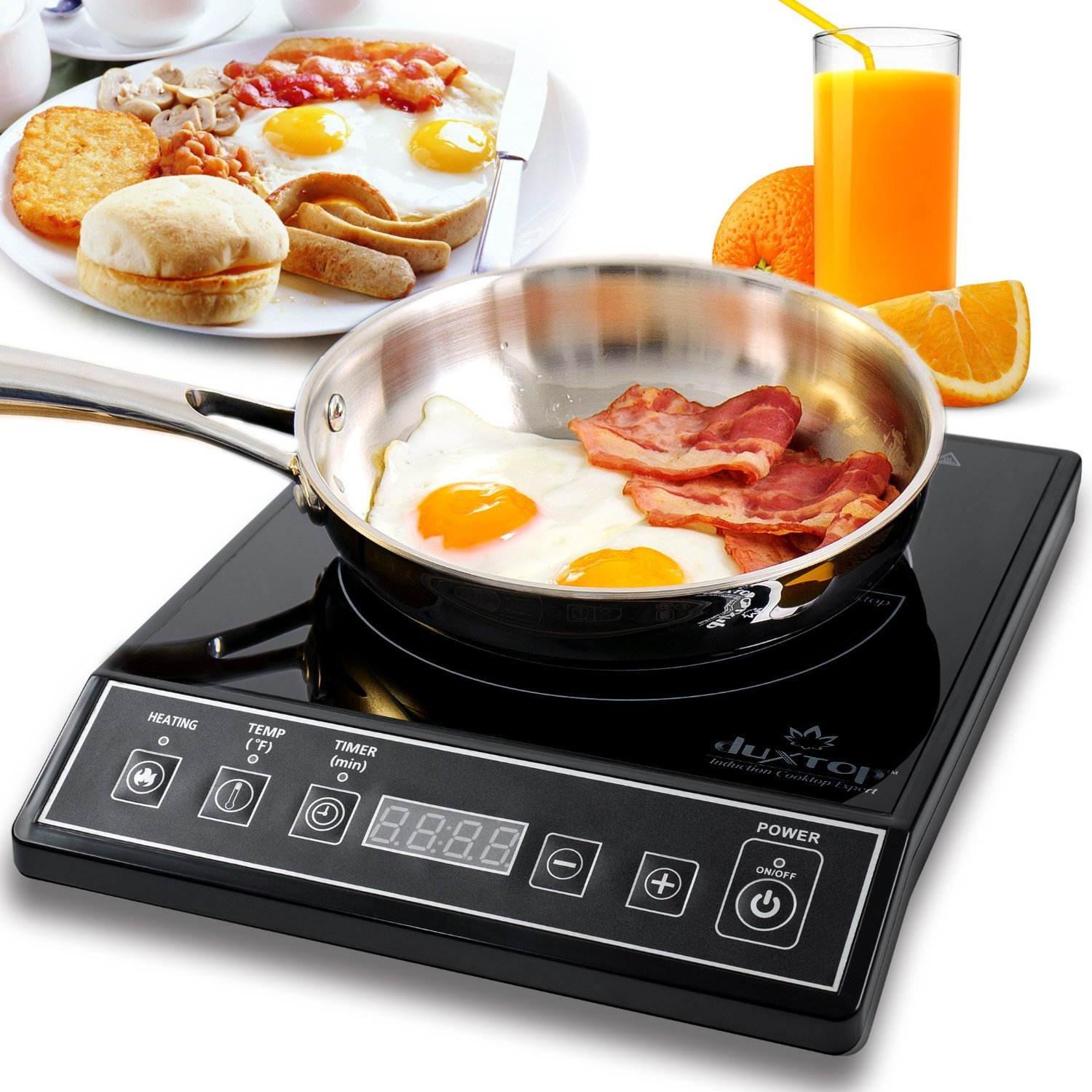 Secura 9100MC 1800W Portable Induction Cooktop Countertop Burner, Black - Best Induction Cooktop