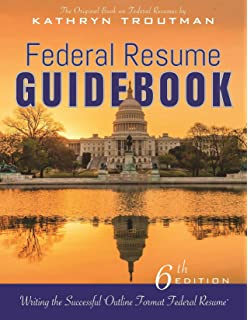 federal resume guidebook 6th ed writing the successful outline format federal resume - Federal Resume Writing