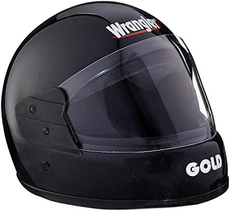 4f778551 Image Unavailable. Image not available for. Colour: Wrangler Gold Full Face  Helmet ...