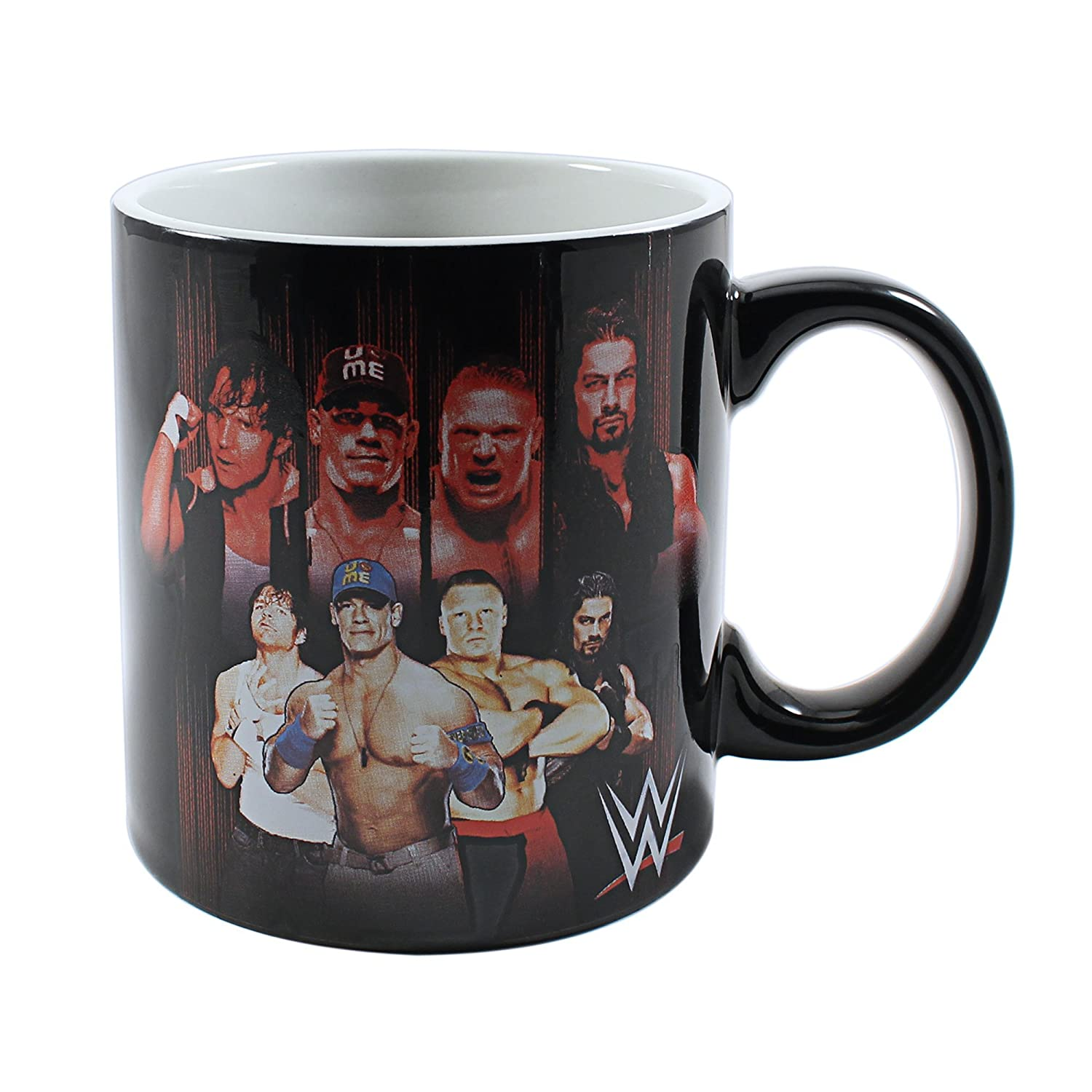Silver Buffalo WE1584 Universal WWE Macho Man Plastic Cold Cup with Flip Straw 16-Ounces