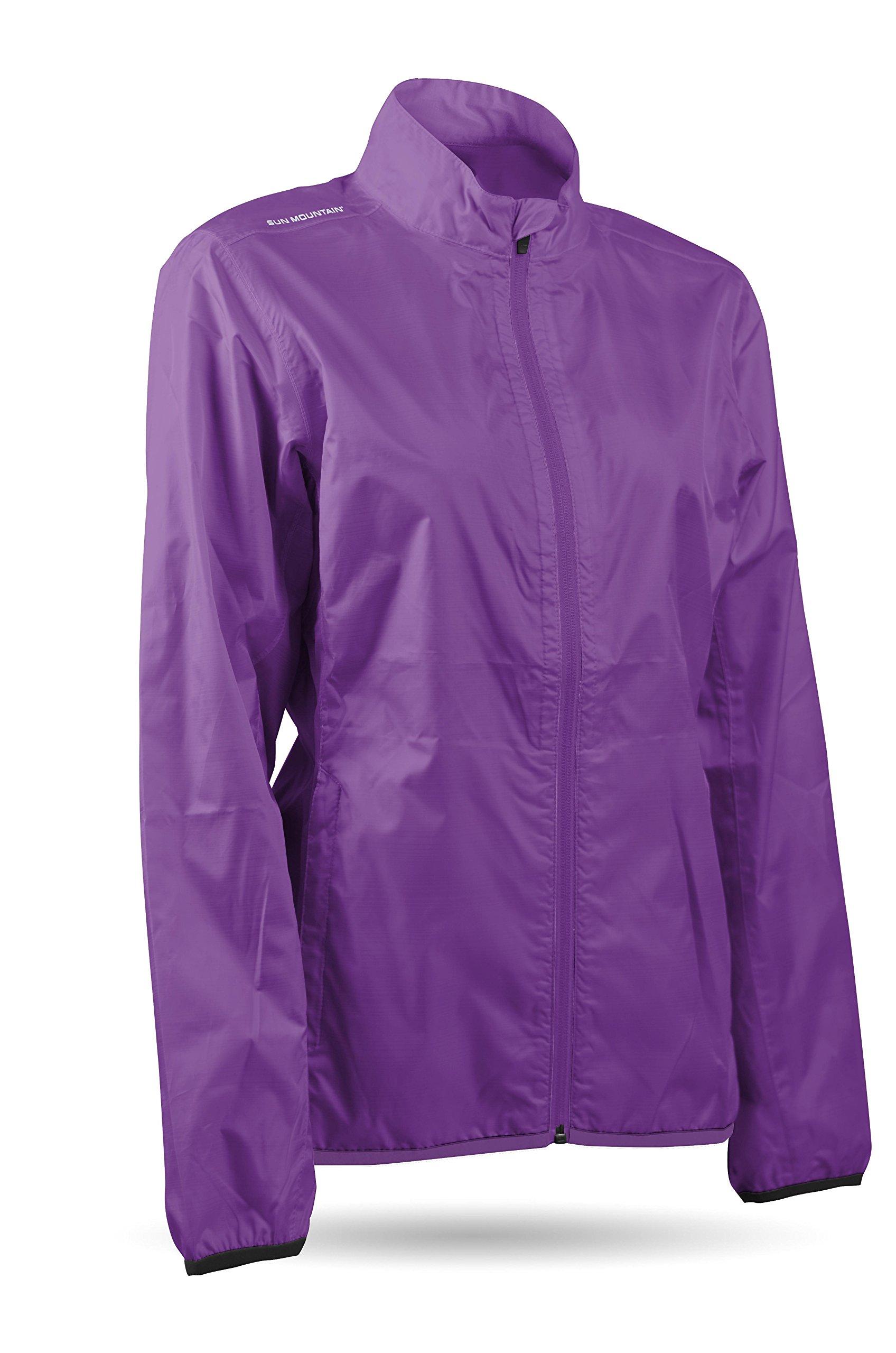 Sun Mountain Women's Cirrus Jacket - Amethyst (Medium) by Sun Mountain