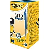 BIC M10 Original Stylos-bille - Bleu, Boîte de 50