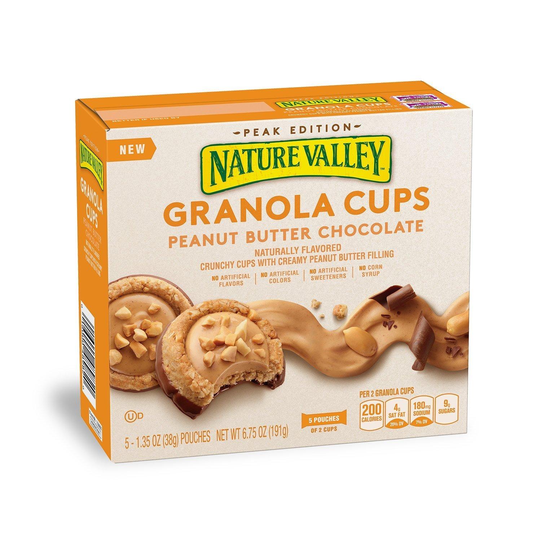 Nature Valley Peak Edition Granola Cups 6.2oz (Peanut Butter Chocolate)