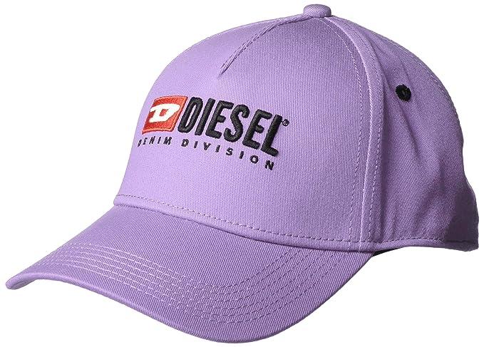 38748e6db1 Diesel - Cappello da Baseball in Twill di Cotone Lilla: Amazon.it ...