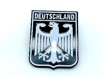 Metal Allemagne Blason Pin Deutschland Badge Drapeau Impérial Aigle fzZnzqwv