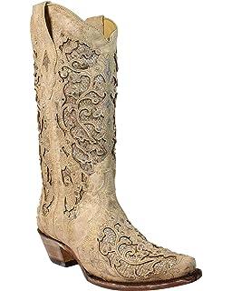 Amazon.com | Cowboy Professional - Women\'s I Do White Western ...
