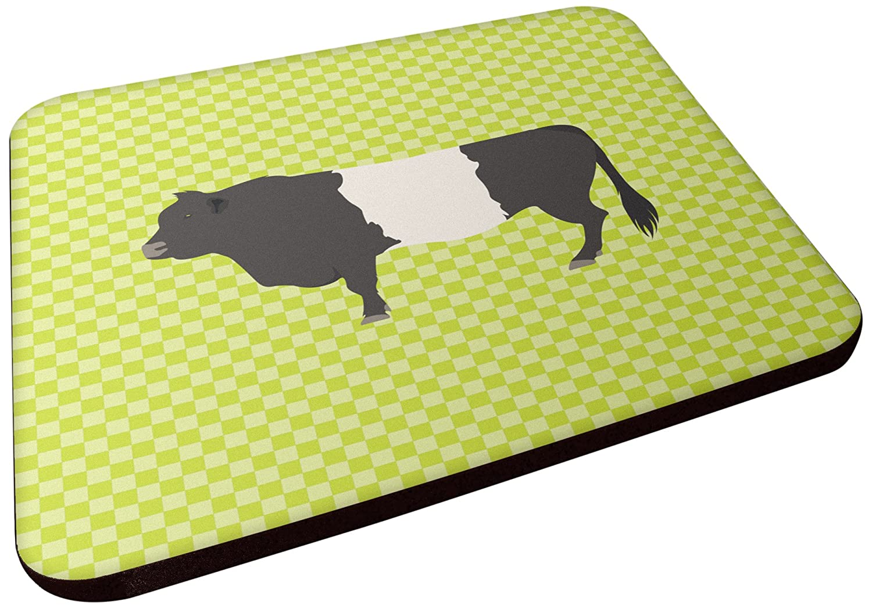 Carolines Treasures BB7657FC Belted Galloway Cow Green Decorative coasters 3.5 Multicolor
