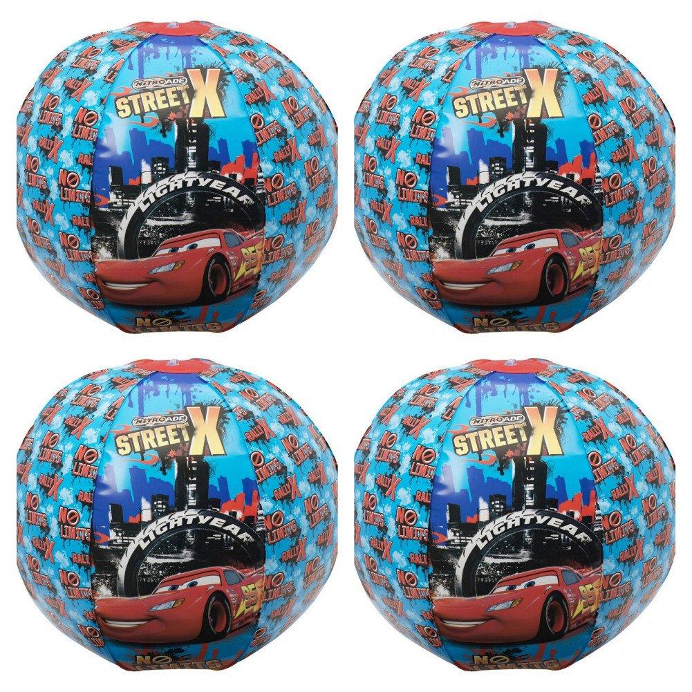 Disney 4 Pieza Cars Playa Balón de fútbol Agua Natación obsequios ...