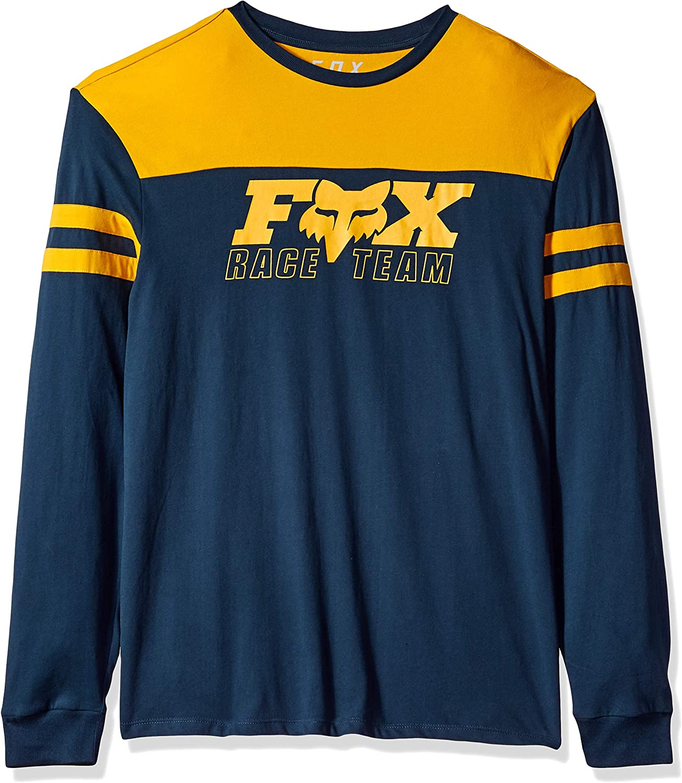 Fox Racing Race Team Mens Long Sleeve Airline T-Shirt Navy