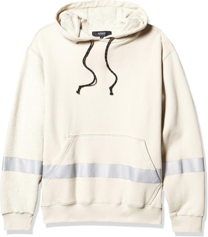 Hudson Jeans Mens Hooded Pullover Sweatshirt