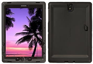 BobjGear Carcasa Resistente para Tablet Samsung Galaxy Tab S3 9.7, SM-T820, SM-T825 - Bobj Funda Protectora (Negro)