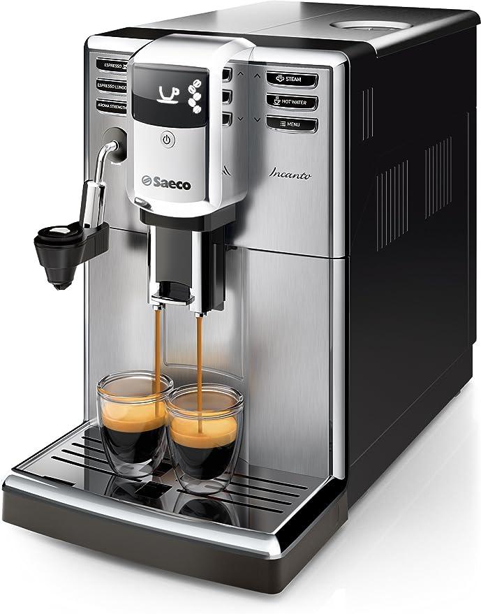 Philips Incanto Cafetera Espresso Super Automática, 1850 W, 2 Cups ...