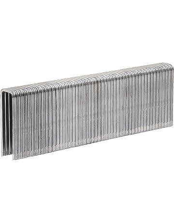 Ancho exterior 11.4mm 1000 Grapas de alambre redondo de Long Black+Decker X70110-QZ Para X72007 // X72008 Uso ligero. Ancho interior 10.1mm 10mm