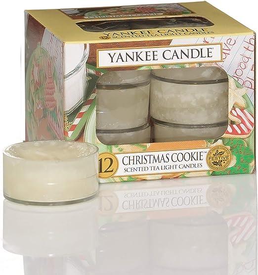 Yankee Candle Scented Tea Lights Chose Fragrances 4-6 hrs Burn Time Set of 12