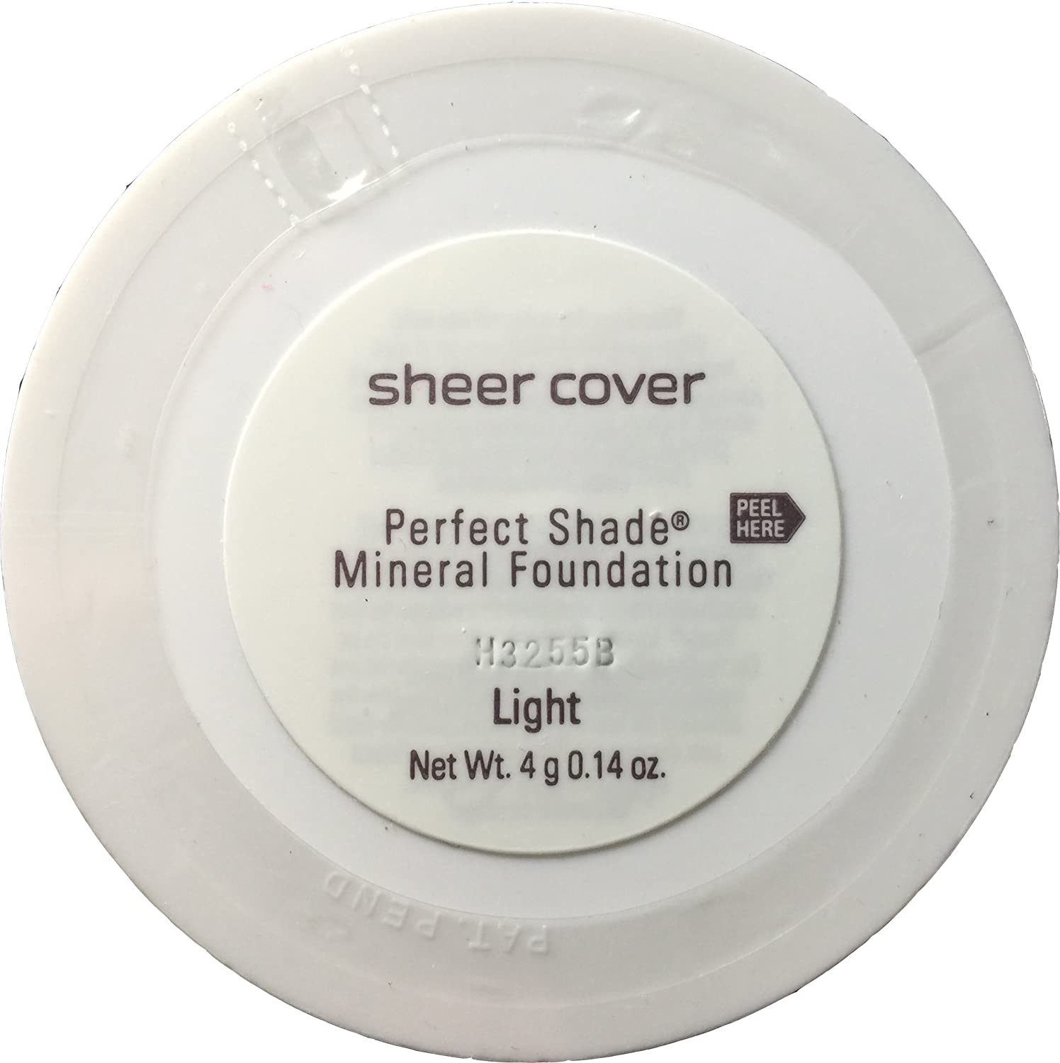 Buy sheer cover perfect shade mineral foundation light 4g 0 14 oz online at low prices in india amazon in