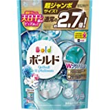 ボールド 洗濯洗剤 ジェルボール Wプラチナ プラチナホワイトリーフの香り 詰め替え超ジャンボサイズ 940g(48個入)