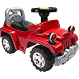 Luvlap Ranger Jeep Ride-On, Red