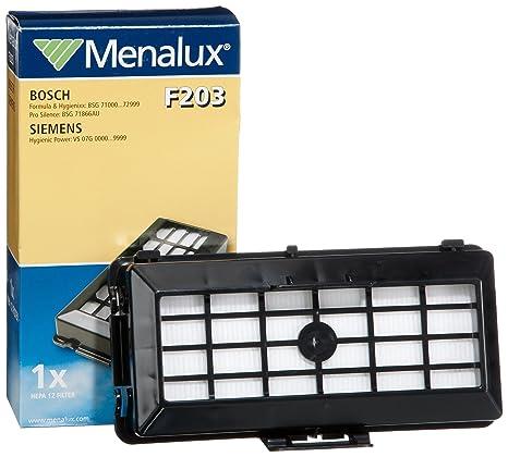 Amazon.com: Menalux F 203 HEPA 12 - Filtro/Siemens VS07G ...