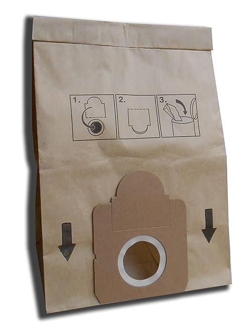 10 bolsas para aspiradora Moulinex Vectral: Amazon.es: Hogar