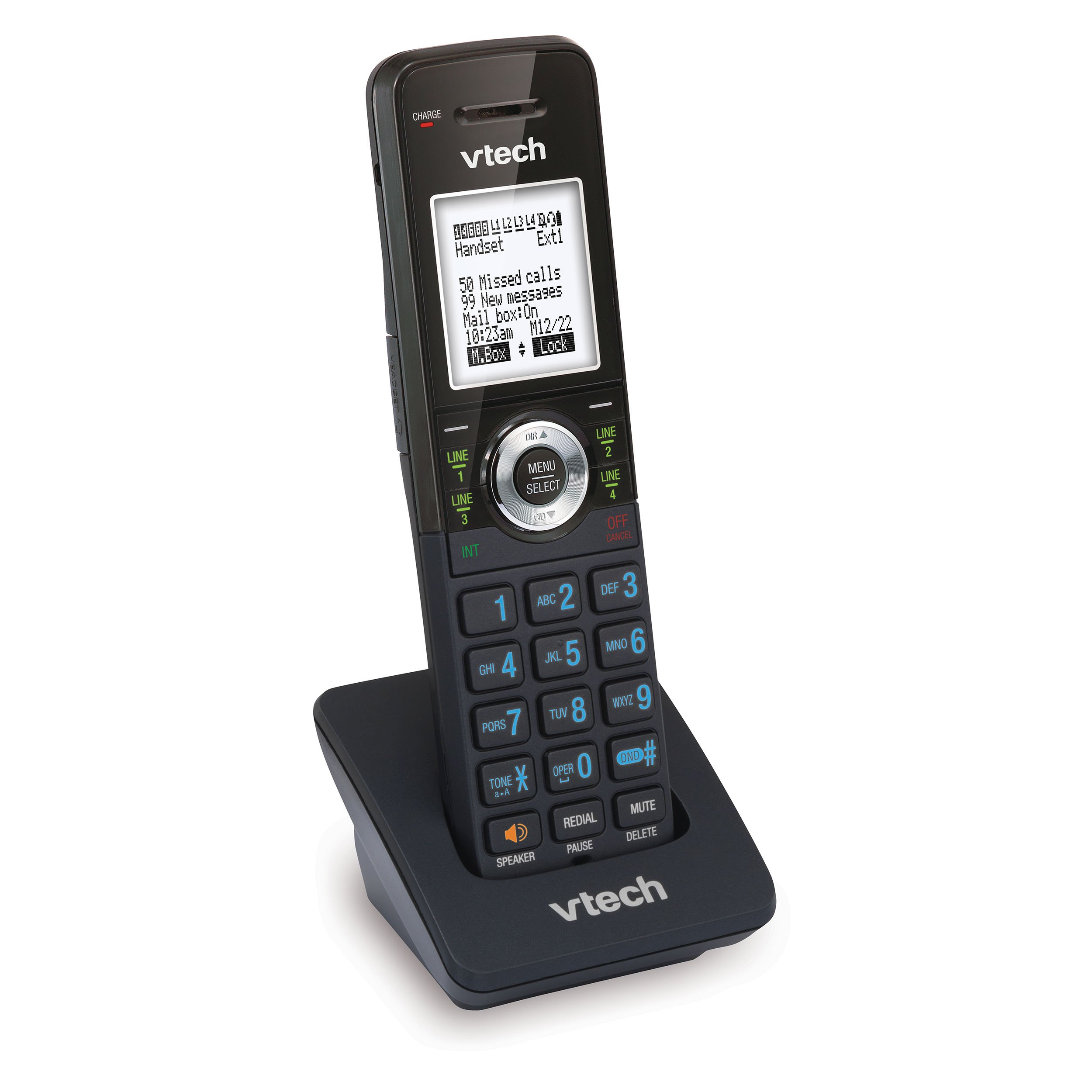 VTech AM18047 Accessory Handset for VTech 4-Line Expandable Small Business Office Phone System