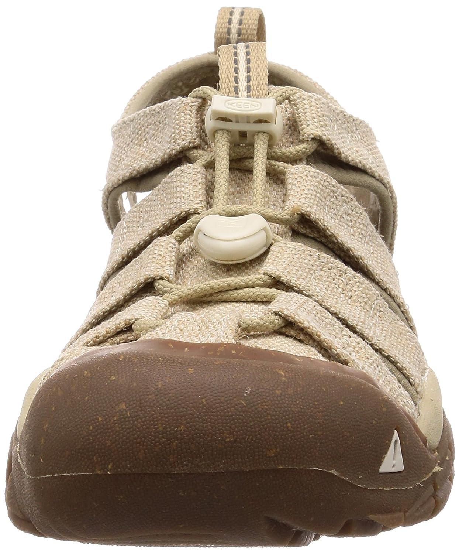 KEEN Women's Newport H2 Sandal B071D51P2S 10.5 B(M) US|Hemp/White Cap