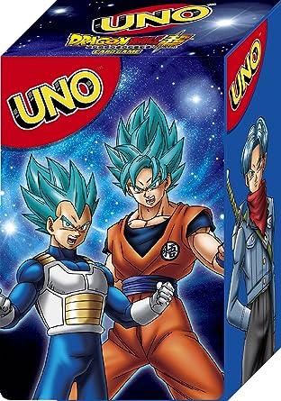 Uno Dragon Ball Super Caja Oficial Para Guardar Las Tarjetas (Sin ...