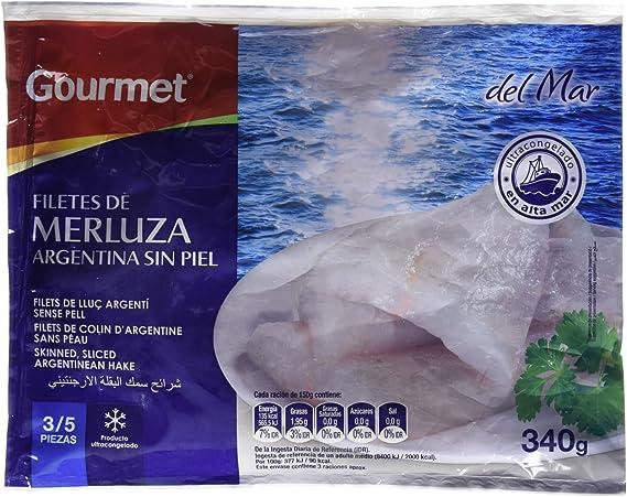 MERLUZA GOURMET FILETE S/P.340G: Amazon.es: Alimentación y ...