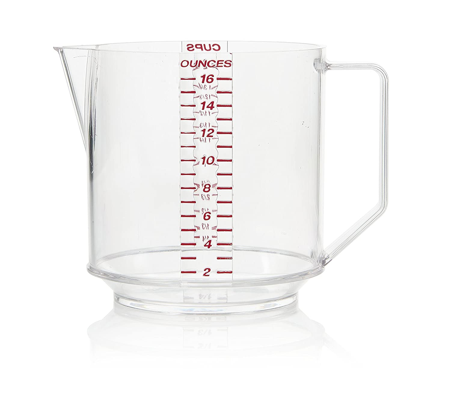 Arrow Home Products 00029 Two Cup Measure, Clear with Read Engraved Graduates