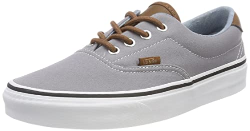 Vans Unisex Adults Era 59 Trainers, Grey ((C/Yellow) Frost