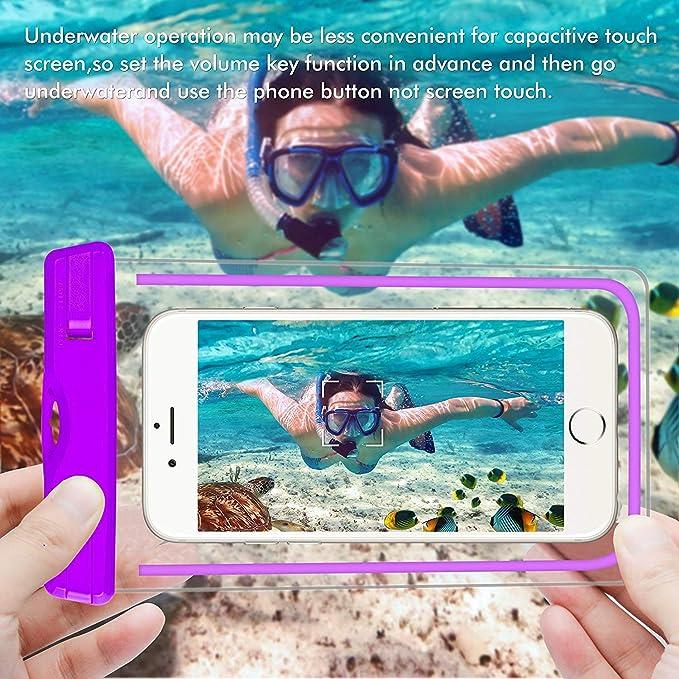 Review Cuteya Fluorescence waterproof case,