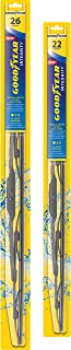 product image for Goodyear Integrity Windshield Wiper Blades, 26 Inch & 22 Inch