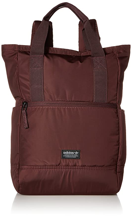 85183dc5a54 Amazon.com  adidas Originals Tote Backpack, Dark Red, One Size ...