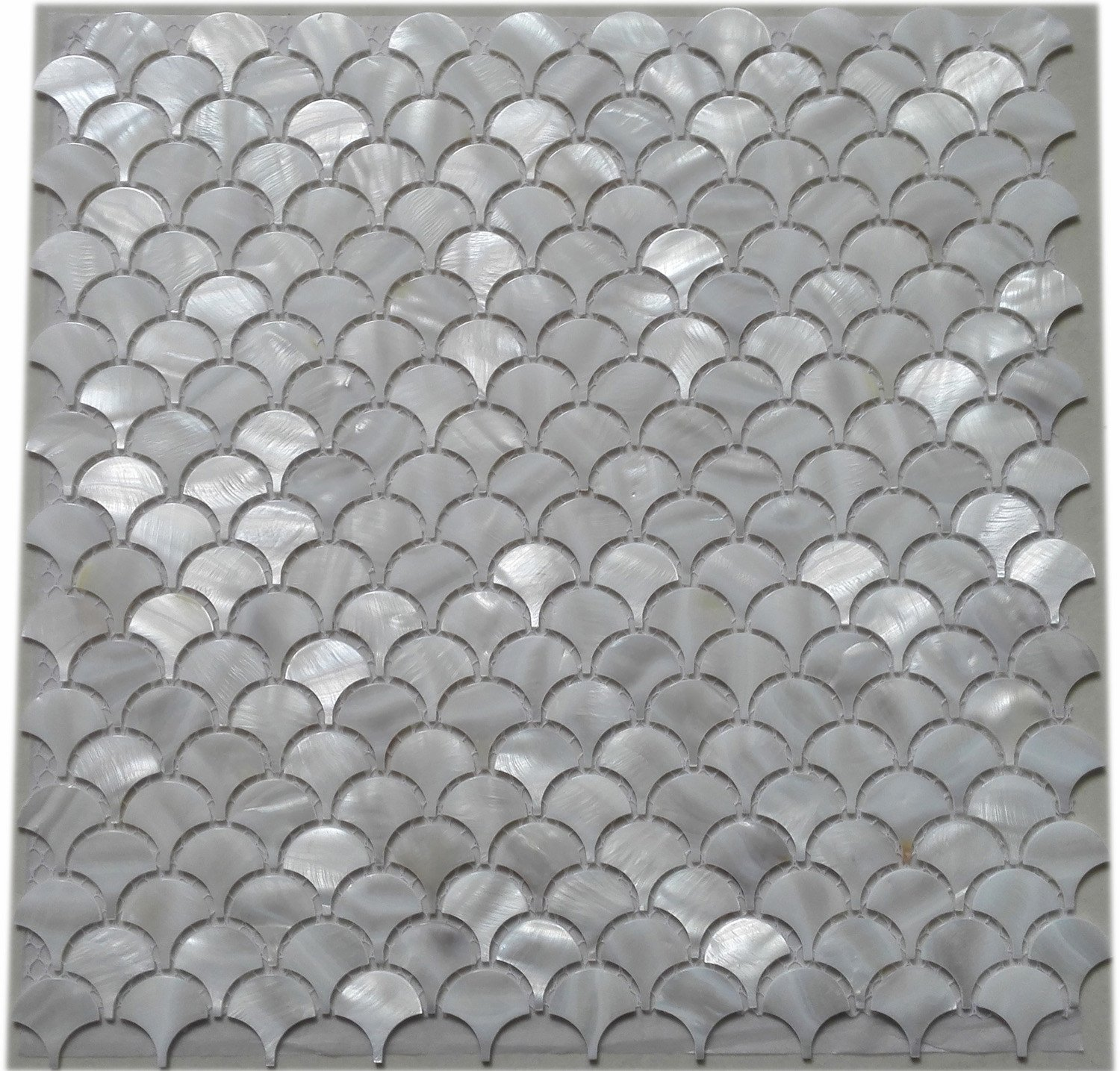 Amazon.com: 11PCS White Fish Scale Freshwater Shell Mosaic Tile ...