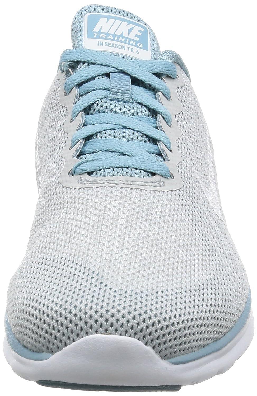 NIKE Women's in-Season TR 6 Cross Training Shoe B01FTKWD14 7 B(M) US|Pure Platinum/White/Mica Blue