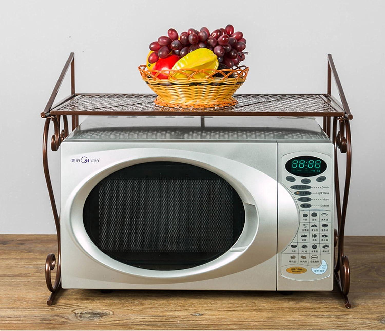 55*36*45/cm Acornfort /à 2//étages four /à micro-ondes de support de rangement support organiseur de meubles de cuisine /étag/ère