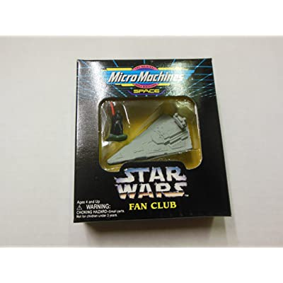 Star Wars Fan Club Micro Machines Space Darth Vader and Imperial Star Destroyer, Special Limited Edition #48941: Toys & Games