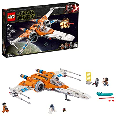 LEGO Star Wars Poe Dameron's X-Wing Fighter 75273 Building Kit, Cool Construction Toy for Kids, New 2020 (761 Pieces): Toys & Games
