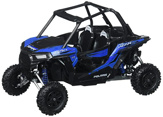 Review Toys & Child 57593 1/18 Scale RZR XP 1000 Polaris Dune Buggy, Woodoo Blue