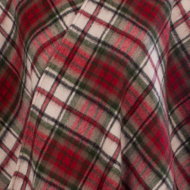 Edinburgh Lambswool schottisches Mini-Tartan-Cape aus 100//% Lammwolle