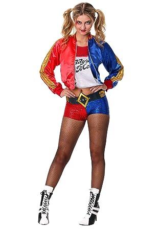 Generique - Disfraz Harley Quinn Adulto Deluxe - Escuadrón ...