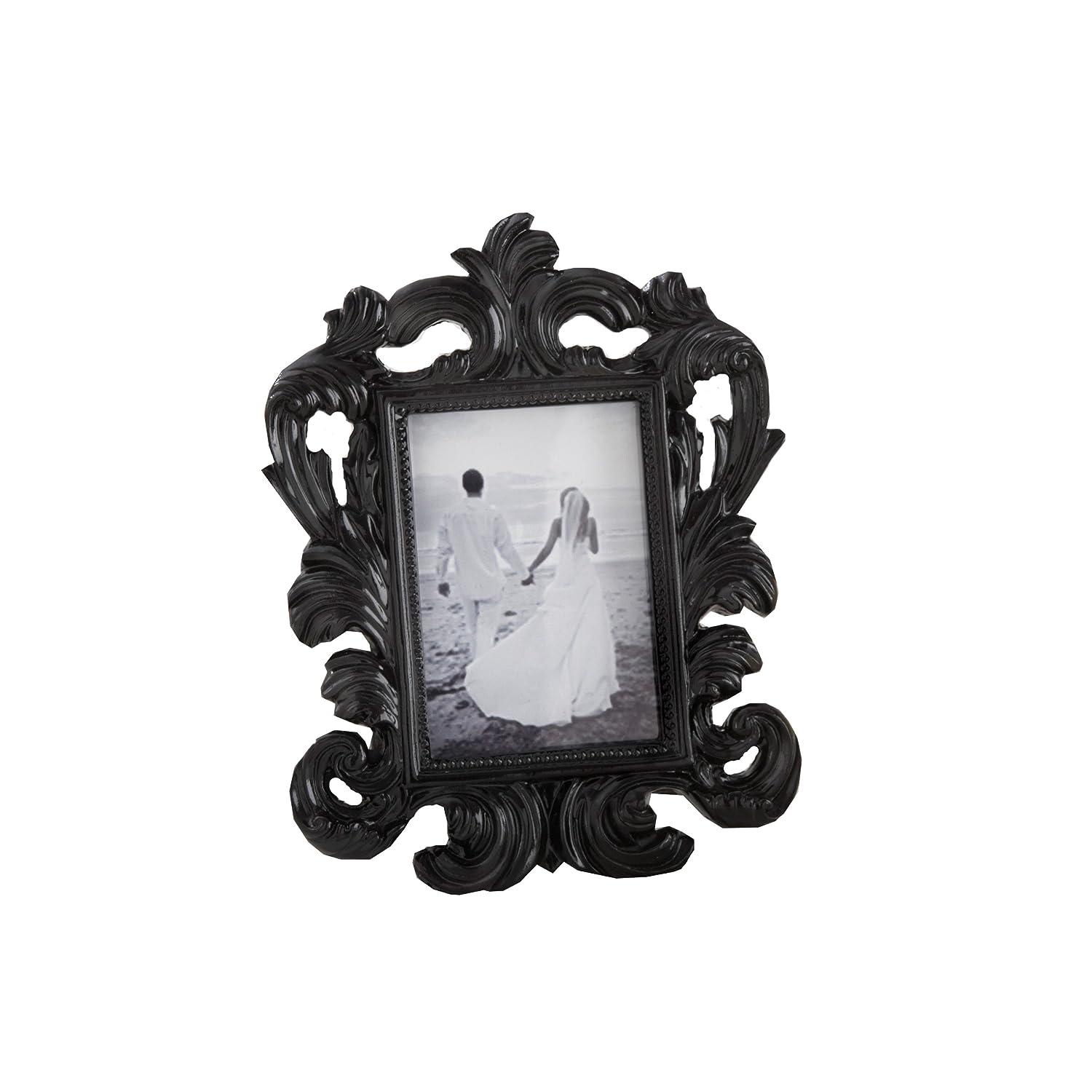 Kate Aspen 25067BK Baroque Place Card Holder and Frame
