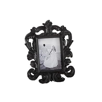Black Baroque Elegant Place Card Holder//Photo Frame Kate Aspen 25067BK