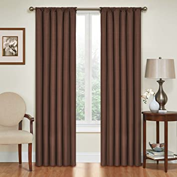 Amazon.com: Eclipse Kendall Blackout Thermal Curtain Panel ...