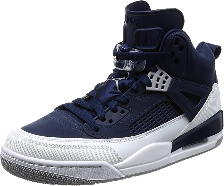Jordan Nike Men s Spizike Basketball Shoe 8.5 Blue 32d494044